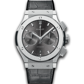 Hublot Classic Fusion Racing Grey Chronograph Titanium 45mm