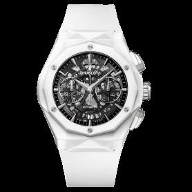 Hublot Classic Fusion Aerofusion Chronograph Orlinski White Ceramic 45mm