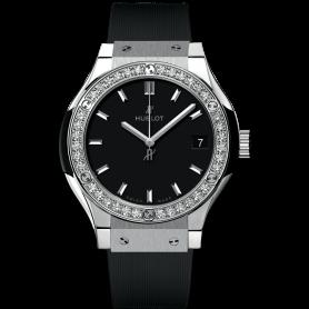 Hublot Classic Fusion Titanium Diamonds 33mm