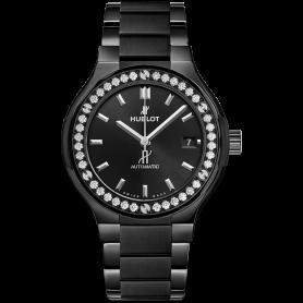 Hublot classic fusion black magic bracelet diamonds 38mm