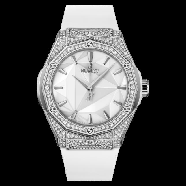 Hublot Classic Fusion Orlinski Titanium White Pave 40mm