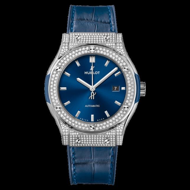 Hublot Classic Fusion Titanium Blue 42mm