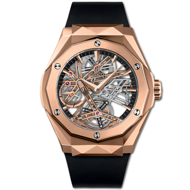 Hublot Classic Fusion Tourbillon Power Reserve 5 Days Orlinski King Gold 45mm