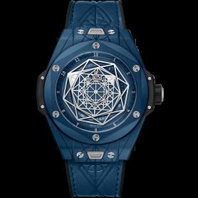 Hublot big bang unico sang bleu ceramic blue 45mm