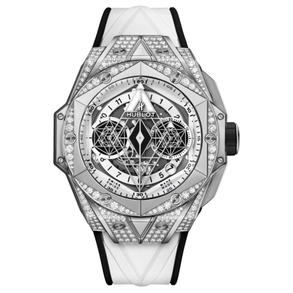 Hublot Big Bang Sang Bleu II Titanium White Pavé 45mm