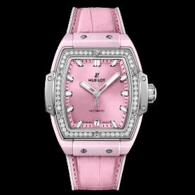 Hublot Spirit Of Big Bang Pink Ceramic Titanium Diamonds 39mm