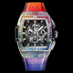 Hublot Spirit Of Big Bang Titanium Sapphire Rainbow 42mm