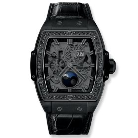 Spirit Of Bigbang Moonphase Ceramic All Black 42mm