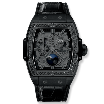 Spirit Of Big Bang Moonphase Ceramic All Black 42mm