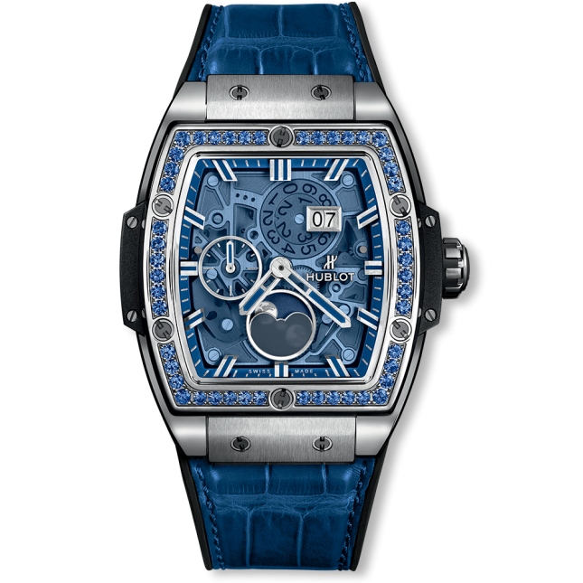 Hublot Spirit Of Big Bang Moonphase Titanium Dark Blue 42mm