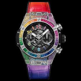 Hublot Big Bang Unico Titanium Rainbow 45mm