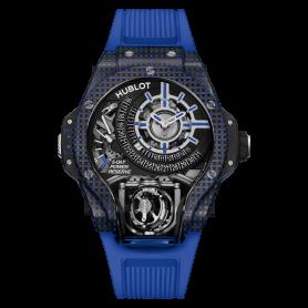 Hublot MP-09 Tourbillon BI-AXIS Blue 3D Carbon