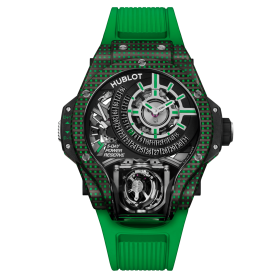 Hublot MP-09 Tourbillon BI-AXIS Green 3D Carbon