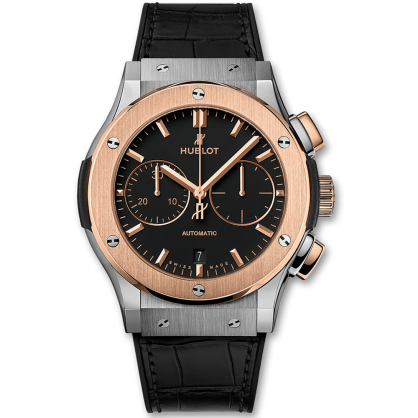 Hublot classic fusion chronograph titanium king gold 45 mm