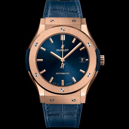 Hublot Classic Fusion Blue King Gold 45mm 511.OX.7180.LR