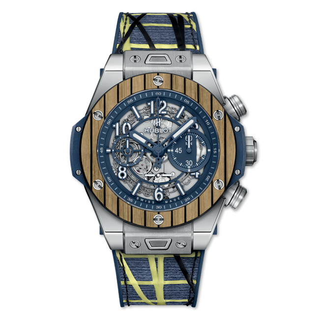 HUBLOT BIG BANG UNICO TEAK ITALIA INDEPENDENT TITANIUM