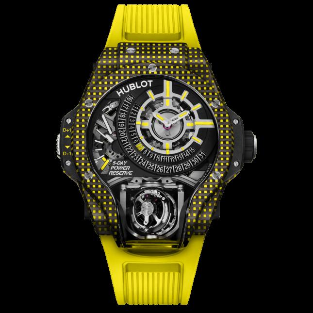Hublot MP-09 Tourbillon BI-AXIS Yellow 3D Carbon
