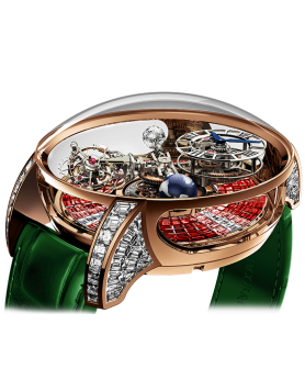 Jacob & Co ASTRONOMIA TOURBILLON BAGUETTE Ruby Degrade
