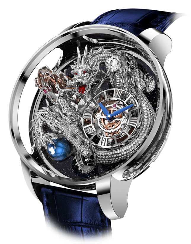 Jacob & Co Astronomia Tourbillon Dragon Pave