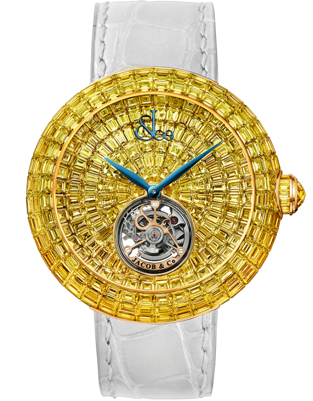 Jacob & Co Brilliant Flying Tourbillon Yellow Diamonds