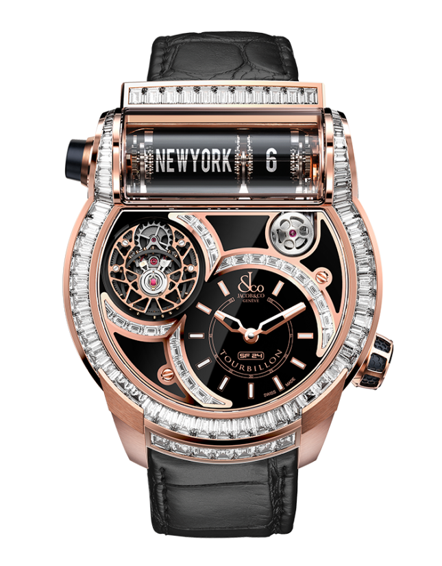 Jacob & Co Epic SF24 Tourbillon Baguette