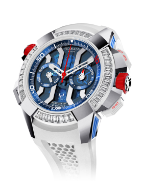 Jacob & Co Epic X Chrono Messi White Gold, Titanium And Baguette