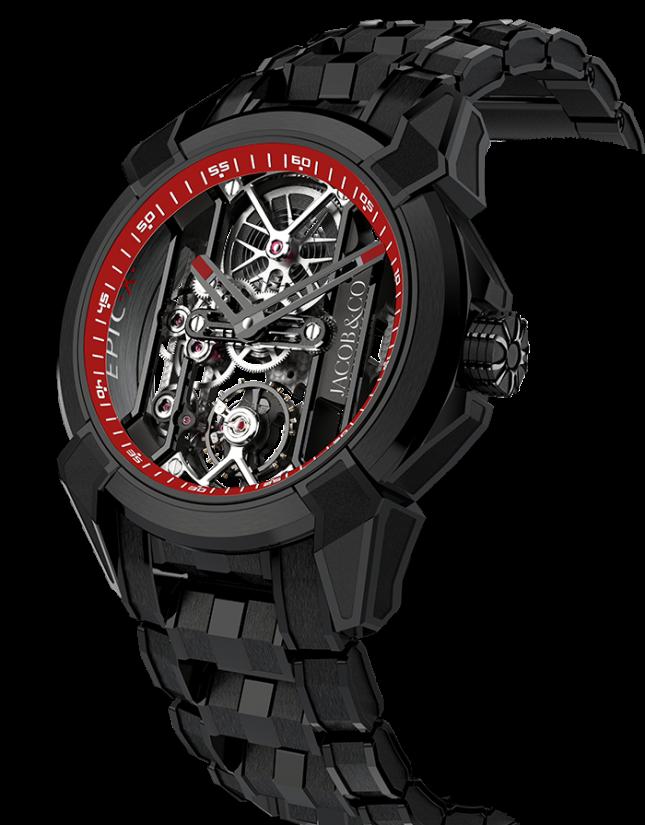 Jacob & Co Epic X Black Titanium Bracelet