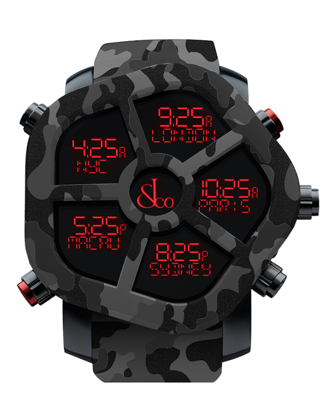 Jacob & Co GHOST CARBON CAMOUFLAGE