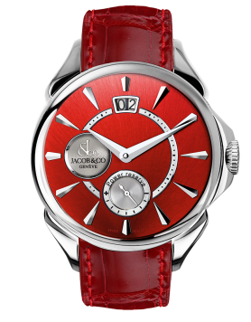 Jacob & Co Palatial Classic Manual Big Date Colored Dial - Steel Case