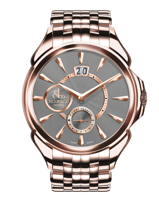 Jacob & Co PALATIAL CLASSIC MANUAL BIG DATE - ROSE GOLD