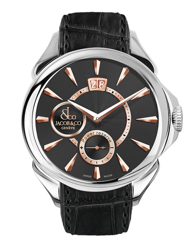 Jacob & Co PALATIAL CLASSIC MANUAL BIG DATE - STEEL