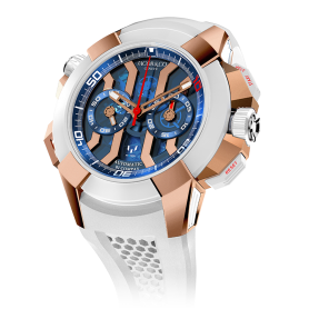 Jacob & Co Epic X Chrono Messi Titanium Rose Gold