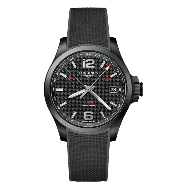 Longines Conquest V.H.P. GMT L37182669