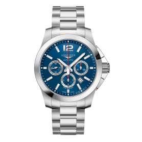 Longines Conquest Chronograph Blue Dial L38014966