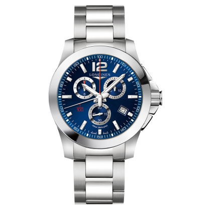 Longines Conquest Chronograph Blue Dial L38004966