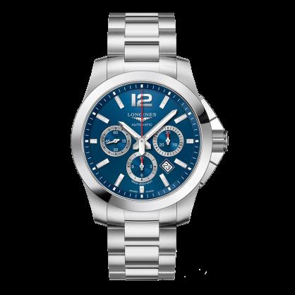 Longines Conquest Chronograph Blue Dial L38014966