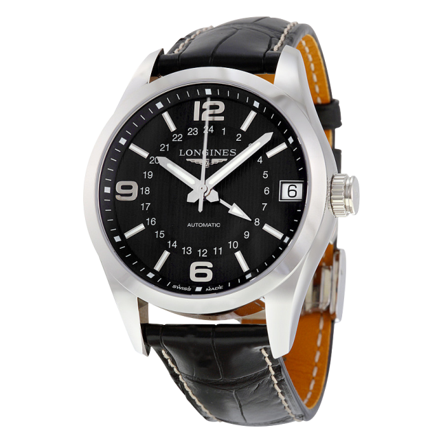 Longines Conquest Classic Alligator L27994563