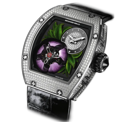 Richard Mille 19-02 Manual Winding Tourbillon Fleur