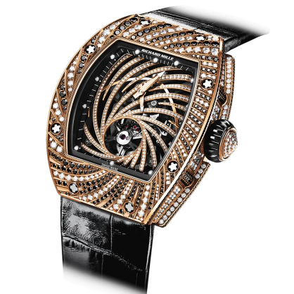 Richard Mille 51-02 Manual Winding Tourbillon Diamond Twister
