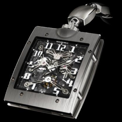 Richard Mille RM 020 Manual Winding Tourbillon Pocket Watch