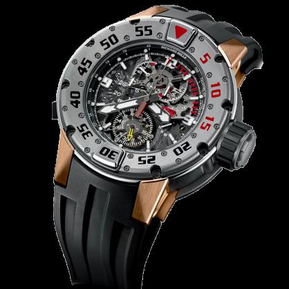 Richard Mille RM 025 Manual Winding Tourbillon Chronograph Diver's watch