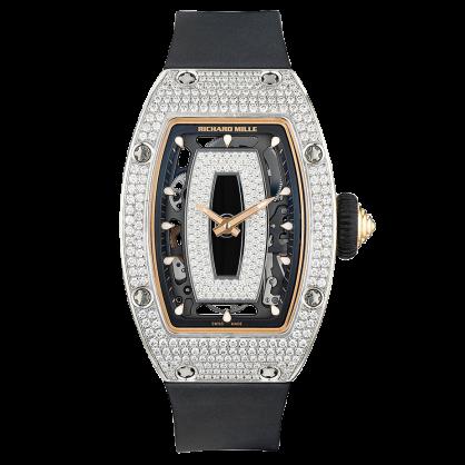 Richard Mille RM 07-01 White Gold Diamond Pave