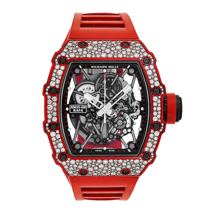 Richard Mille RM 35-02 Rafael Nadal Diamond Red Quartz TPT