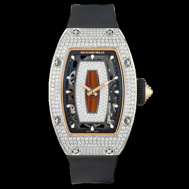 Richard Mille RM-07 Ladies Watch in 18K White Gold