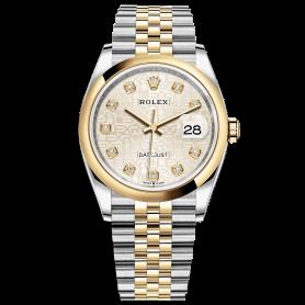 Rolex Datejust 36 126203 Mặt Số Vi Tính Trắng