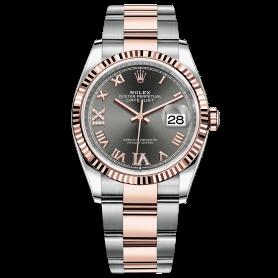 Rolex Datejust 36 126231 Mặt Số Rhodium Cọc Số La Mã