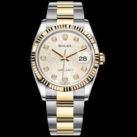 Rolex Datejust 36 126233 Mặt Số Vi Tính Bạc Dây Đeo Oyster