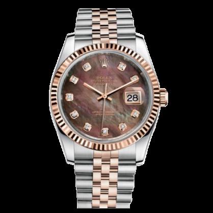 Rolex datejust 36 116231 Mặt Xà Cừ