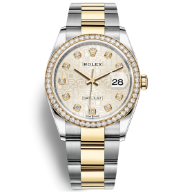 Rolex Datejust 36 126283RBR Mặt Số Vi Tính Bạc Dây Đeo Oyster