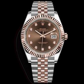 Rolex Datejust 41 126331 cọc số kim cương